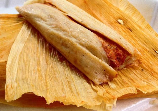 Tamales In The Husk Image